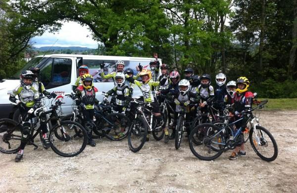 Annecy Cyclisme Compétition Stage VTT jeune