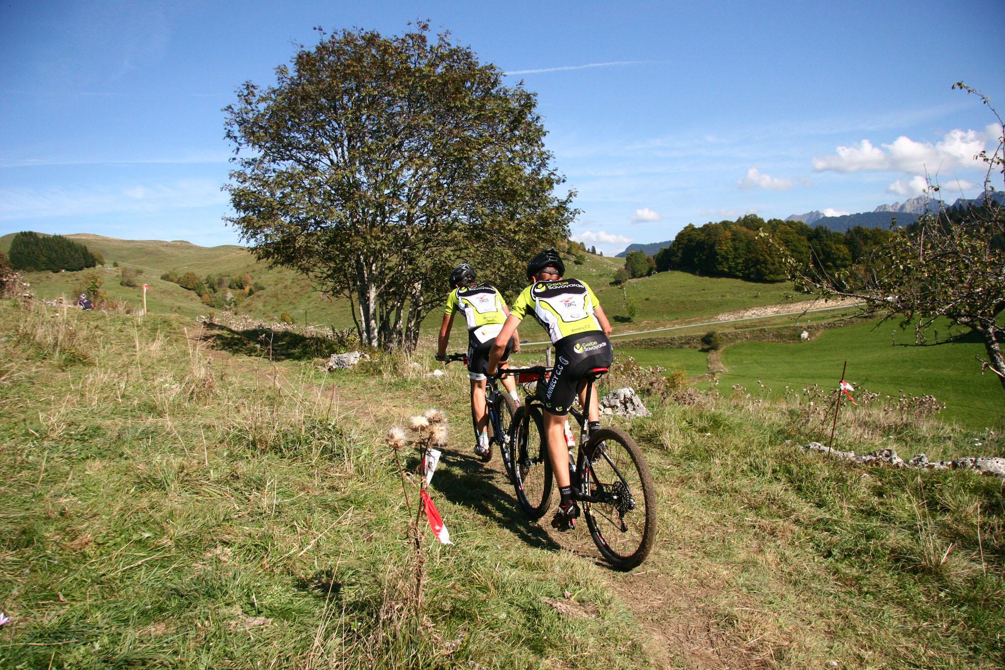 Annecy Cyclisme Competition Américaine VTT Plaine Joux Les Brasses