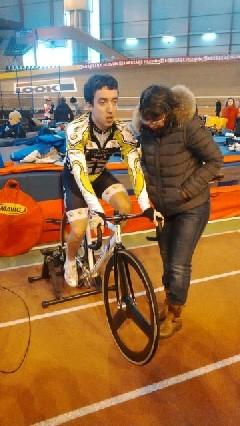 Annecy Cyclisme Competition Championnat France Handisport Piste 2015