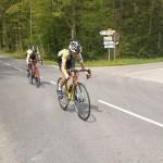 Annecy Cyclisme Compétition Joffrey emmène Axel
